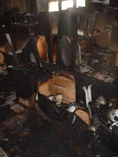 В Перми горят дома