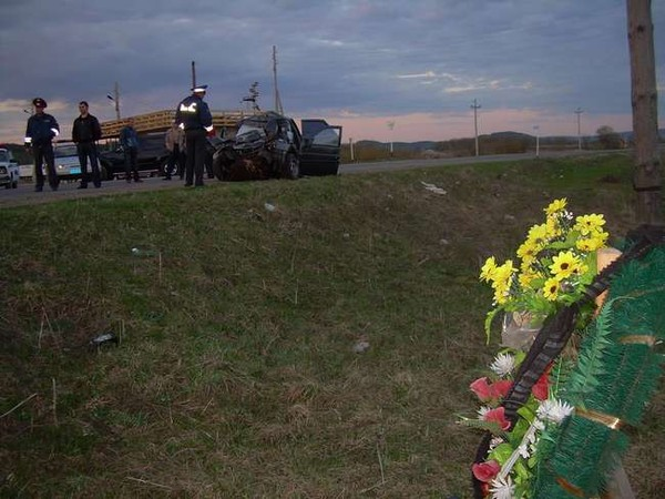 В Суксунском районе Пермского края погибли четверо сирийцев