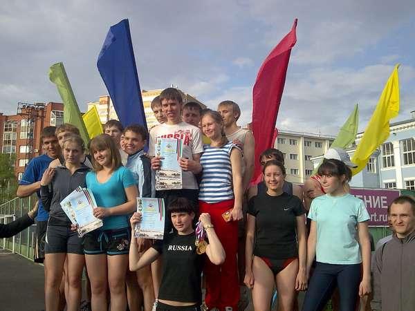 В пермском политехе прошла традиционная легкоатлетическая эстафета