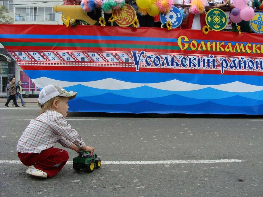 В день города в Перми открыты два памятника и три памятные доски, а по улице Ленина проплыли 32 ладьи - фото 46