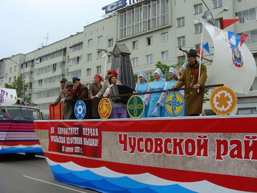 В день города в Перми открыты два памятника и три памятные доски, а по улице Ленина проплыли 32 ладьи - фото 48