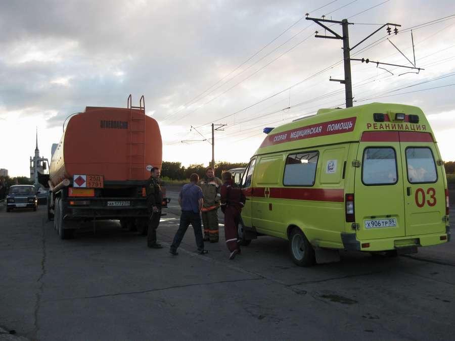 В Орджоникидзевском районе Перми произошла утечка ядовитого вещества