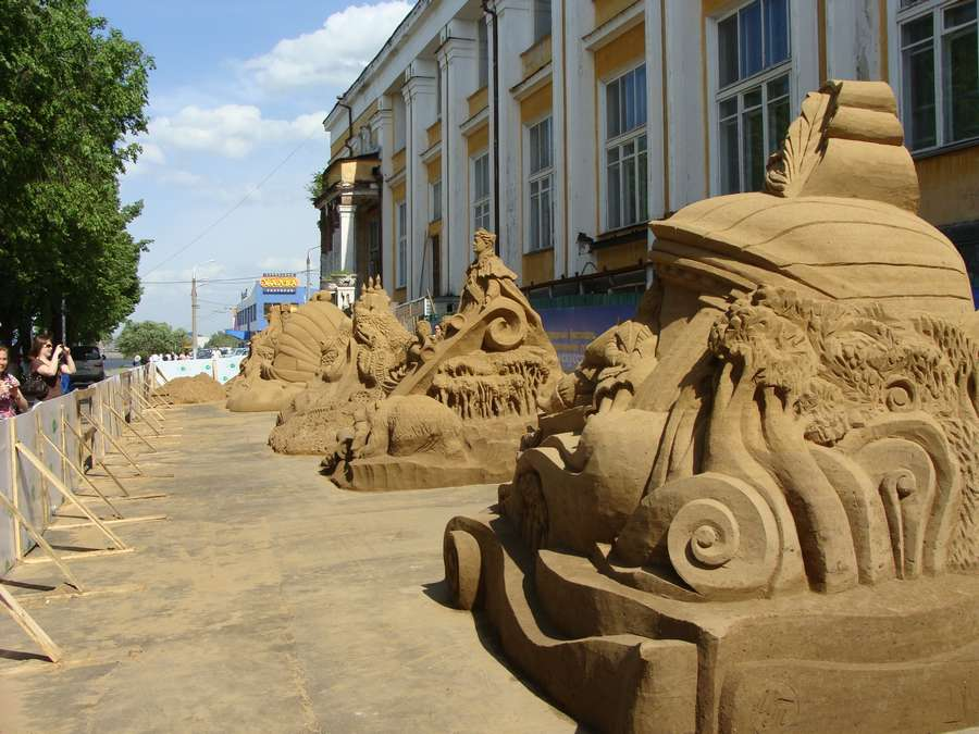 В Перми определили победителей конкурса песчаных скульптур