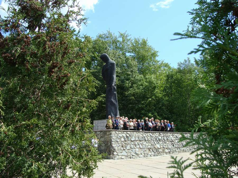 В Перми состоялось торжественное возложение венков на Воинском кладбище - фото 1