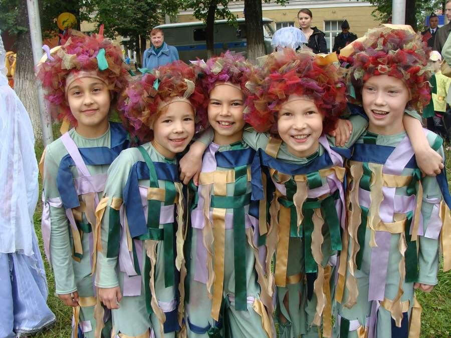 Сегодня в Кудымкаре чудь проводит карнавал - фото 21
