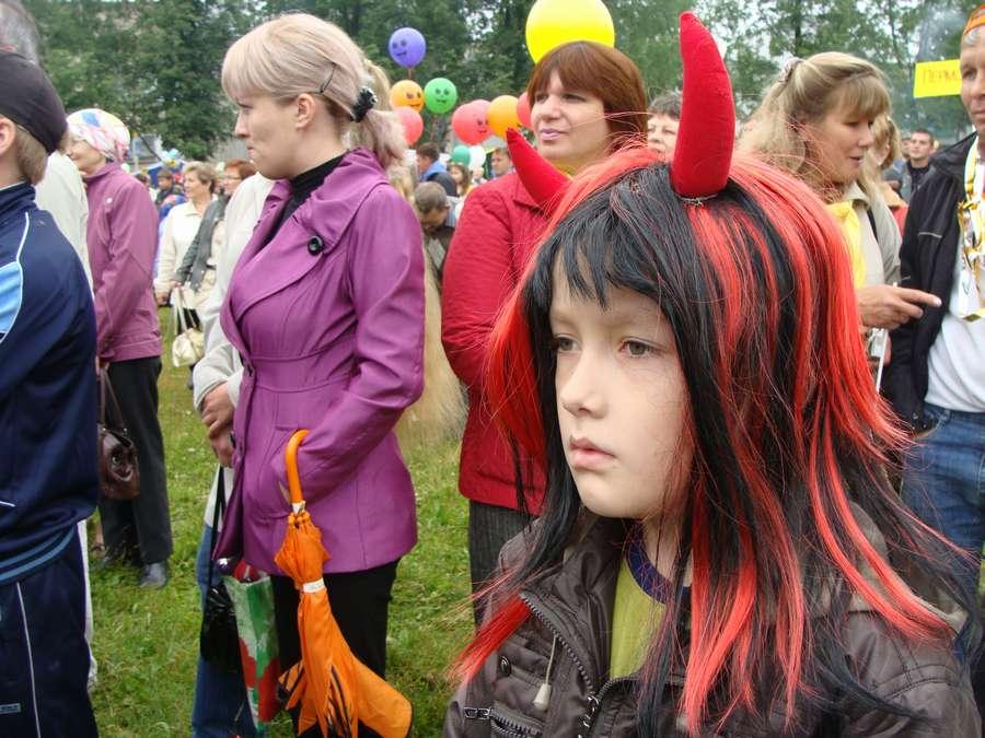 Сегодня в Кудымкаре чудь проводит карнавал - фото 30