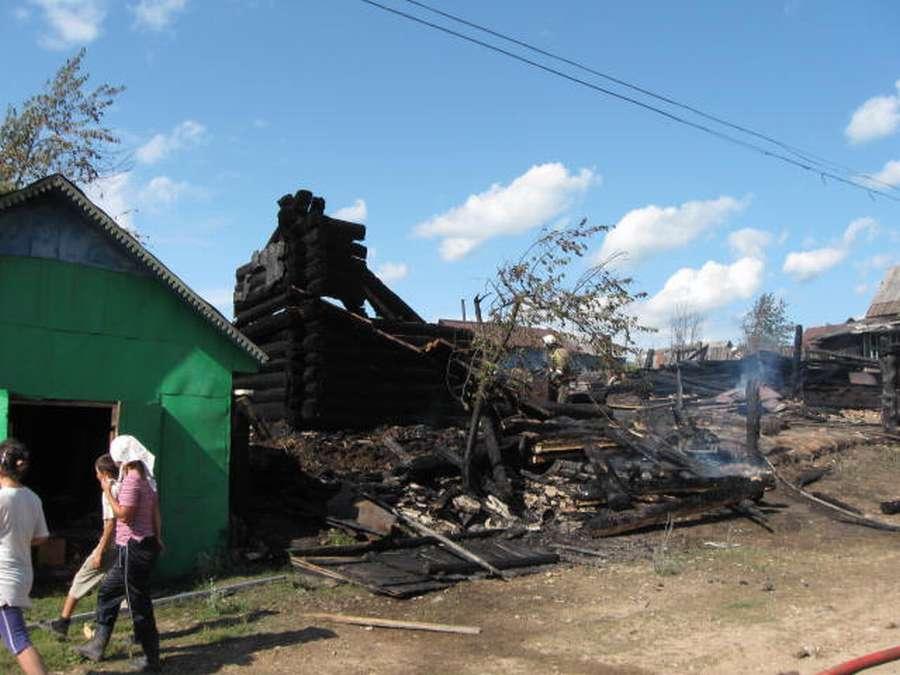 В Пермском крае за выходные погибли в огне 4 человека