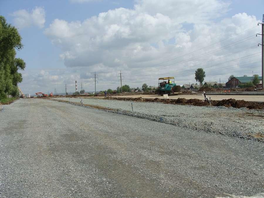Губернатор проинспектировал строительство дороги в Перми