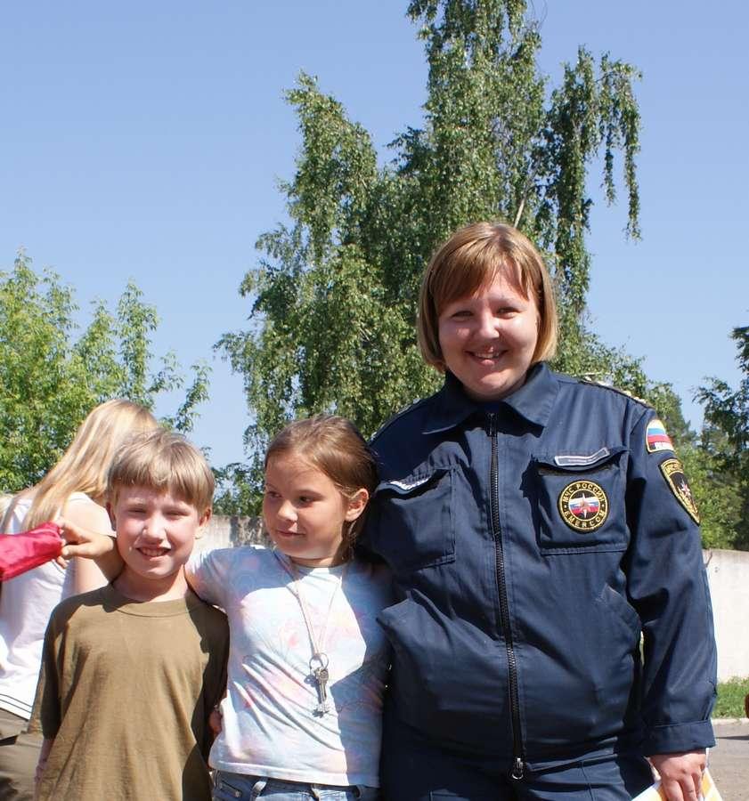 Пермские пожарные навестили «пожароопасных» детей