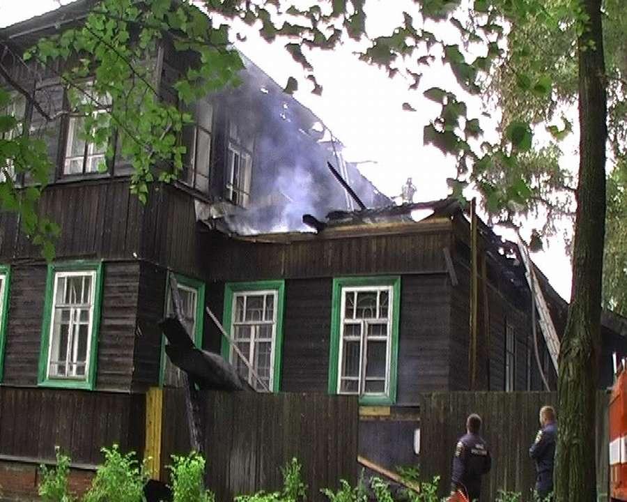 В Осе горел промышленно-гуманитарный колледж - фото 1