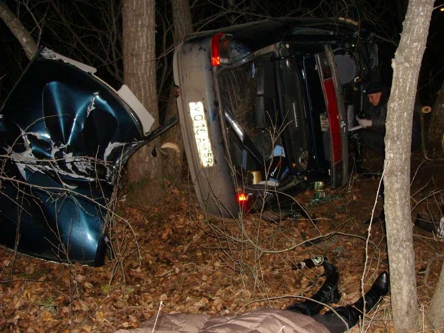 В Орджоникидзевском районе Перми – ДТП, двое погибли, трое в больнице