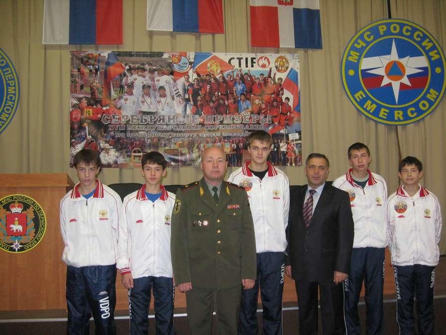 Пермские спортсмены-пожарные штурмуют мировые высоты - фото 1