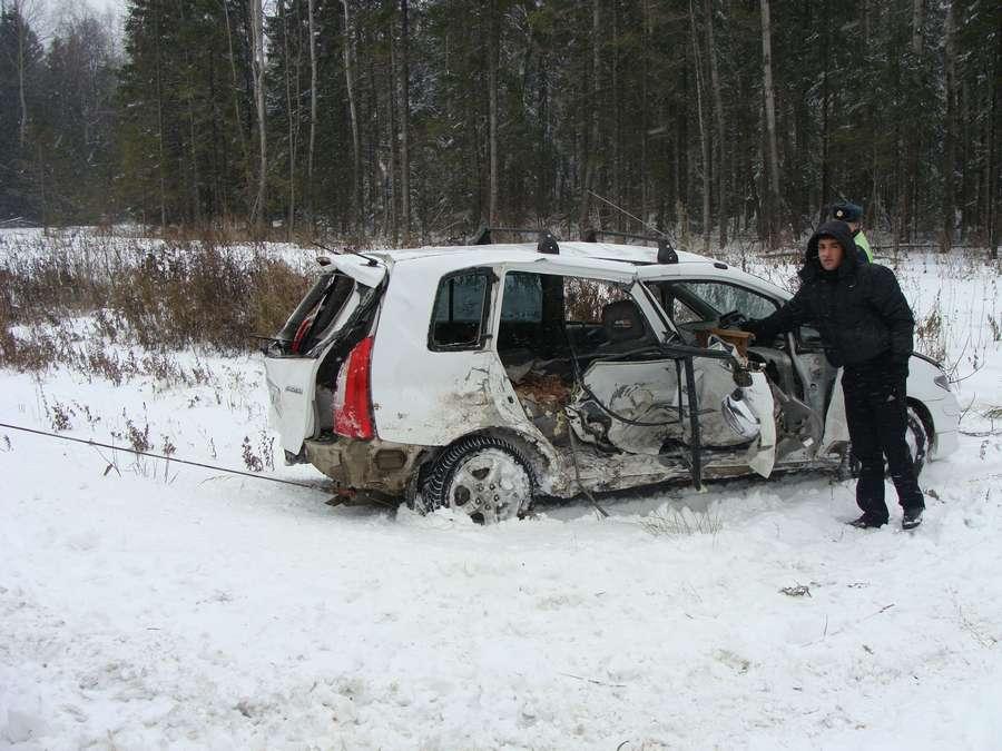 На 35 километре трассы Пермь – Березники столкнулись 4 машины - фото 1