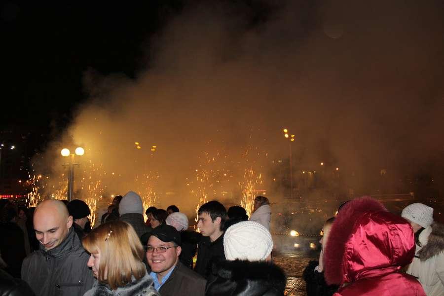 В Перми ночью жрали рекламу - фото 1