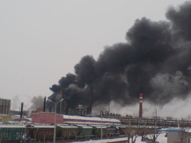 В Перми – пожар на СИБУР-Химпроме