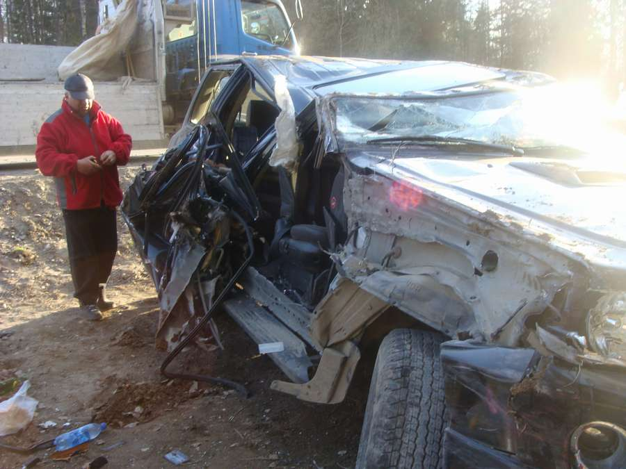 На автодороге Пермь– Новые Ляды в столкновении машин пострадали три человека