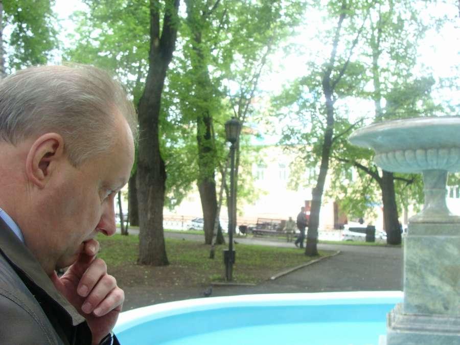 В Перми прошли испытания первого в городе фонтана
