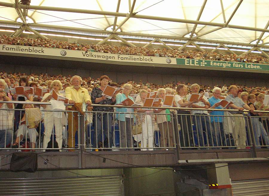 «Gluck auf, gluck auf», - пели пермские хористы в Германии