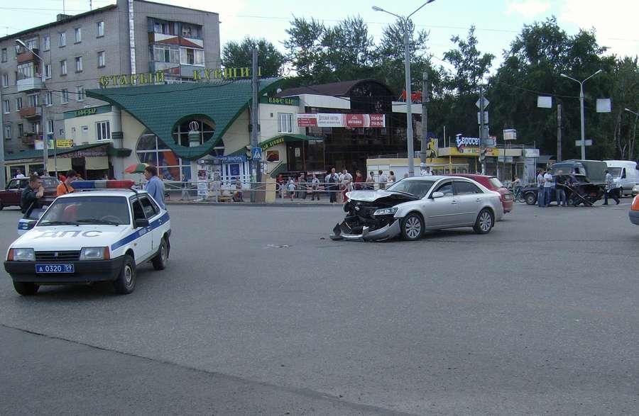 В Перми Хендай сбил четырех пешеходов