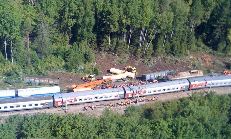 Губернатор Пермского края - об аварии на Транссибе - фото 1