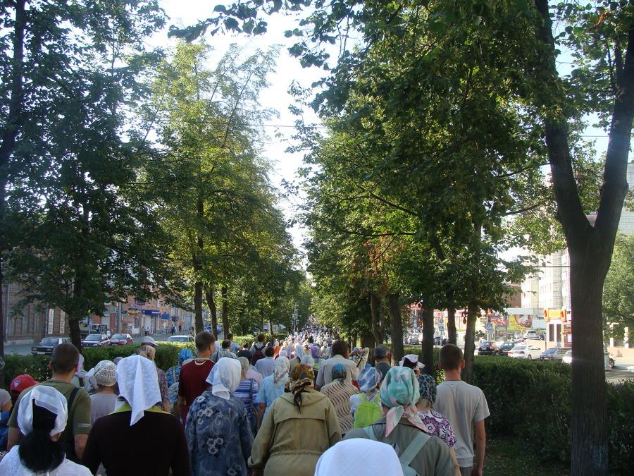Крестный ход Пермь — Белая гора начался - фото 17