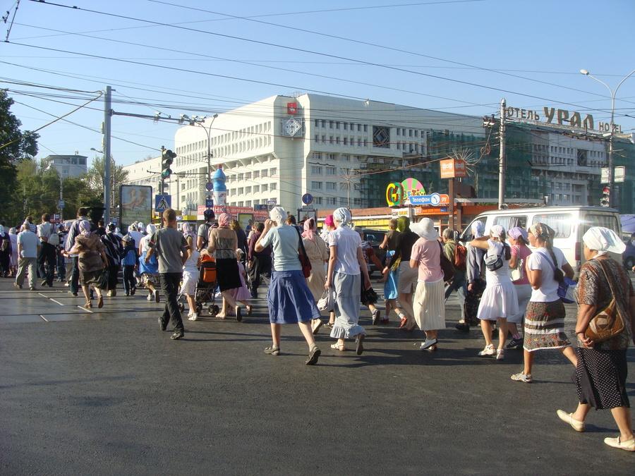 Крестный ход Пермь — Белая гора начался - фото 21
