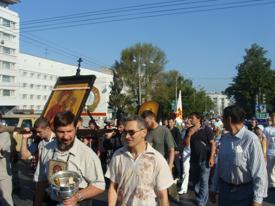 Крестный ход Пермь — Белая гора начался - фото 26