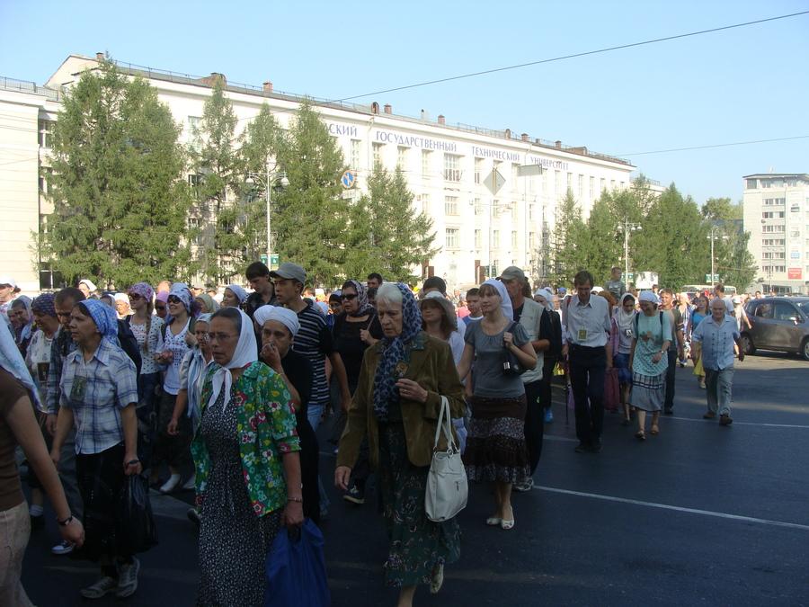 Крестный ход Пермь — Белая гора начался - фото 34