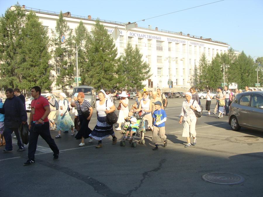 Крестный ход Пермь — Белая гора начался - фото 36