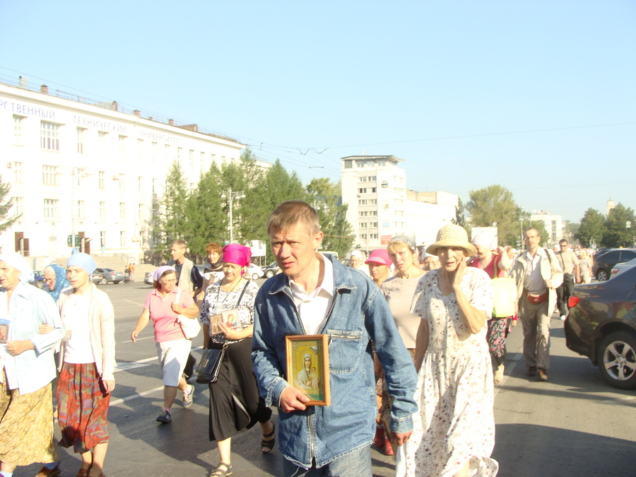 Крестный ход Пермь — Белая гора начался - фото 37
