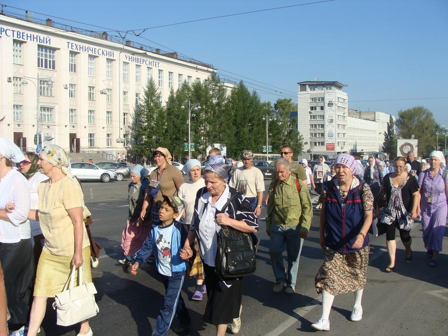 Крестный ход Пермь — Белая гора начался - фото 38