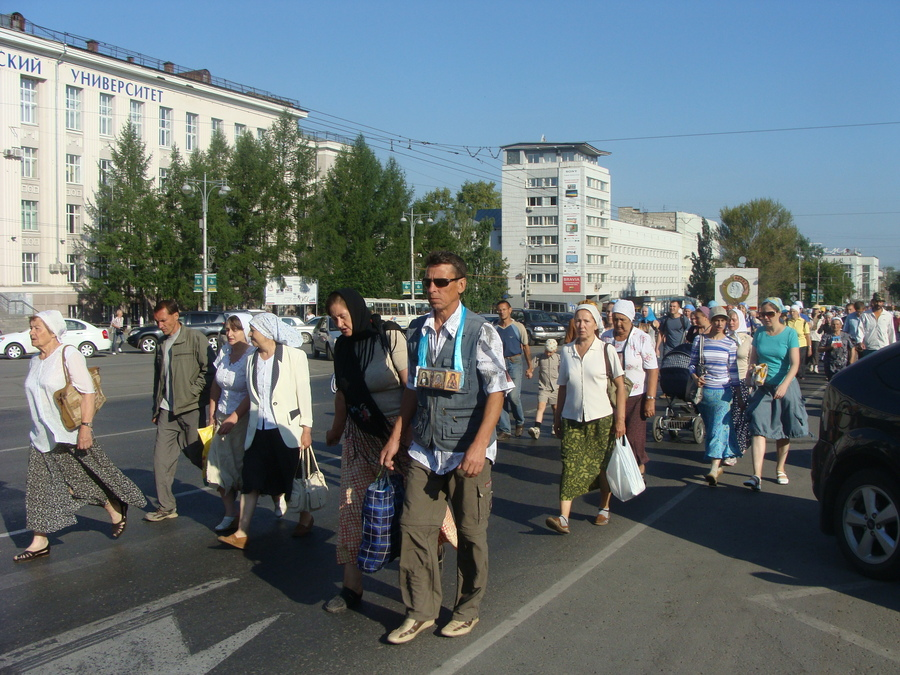 Крестный ход Пермь — Белая гора начался - фото 40