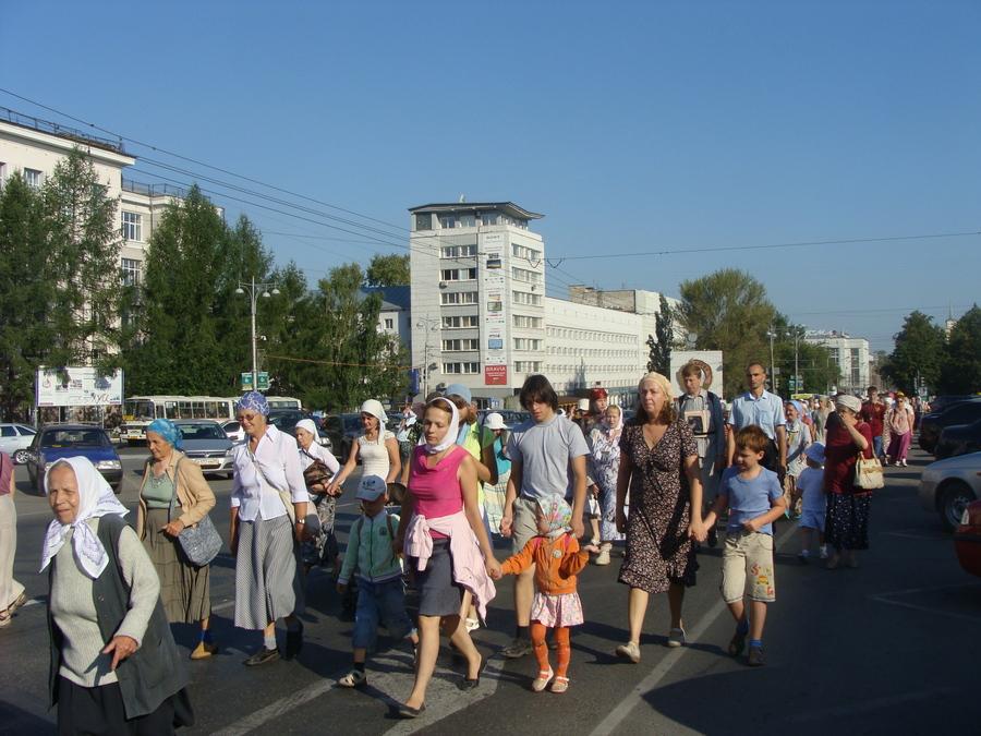 Крестный ход Пермь — Белая гора начался - фото 41
