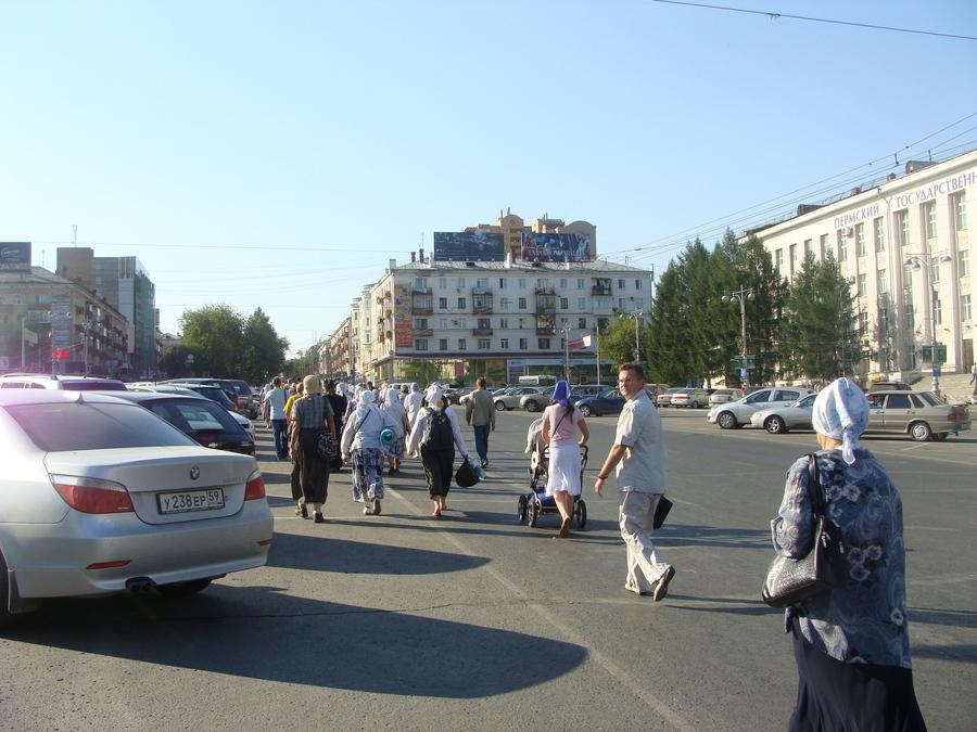 Крестный ход Пермь — Белая гора начался - фото 47