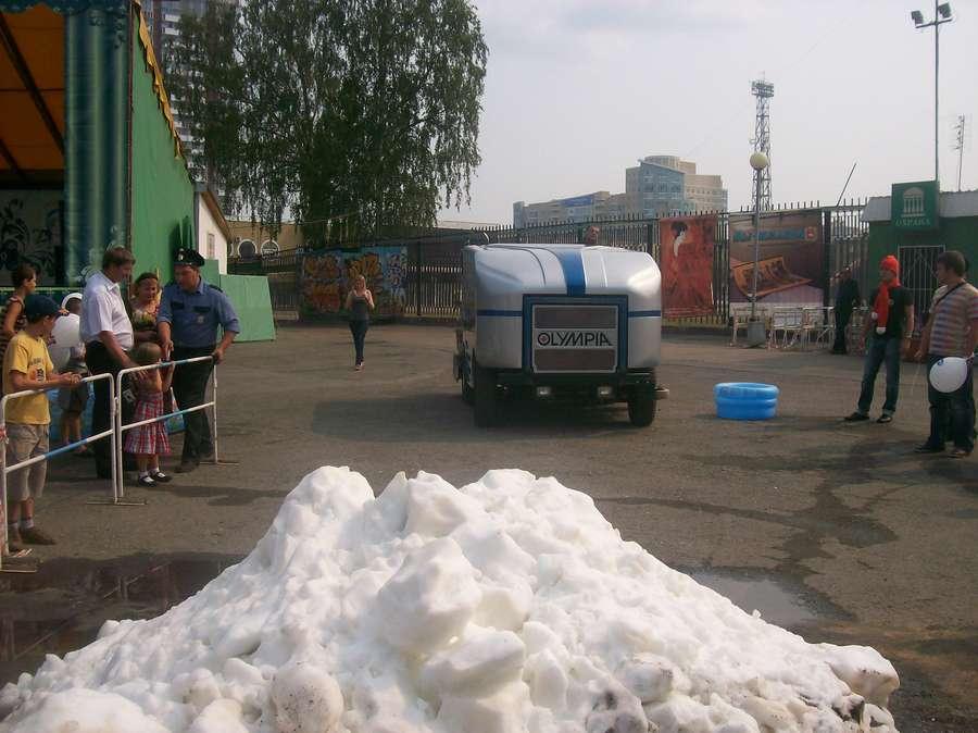 В Перми сегодня играли в настоящие снежки