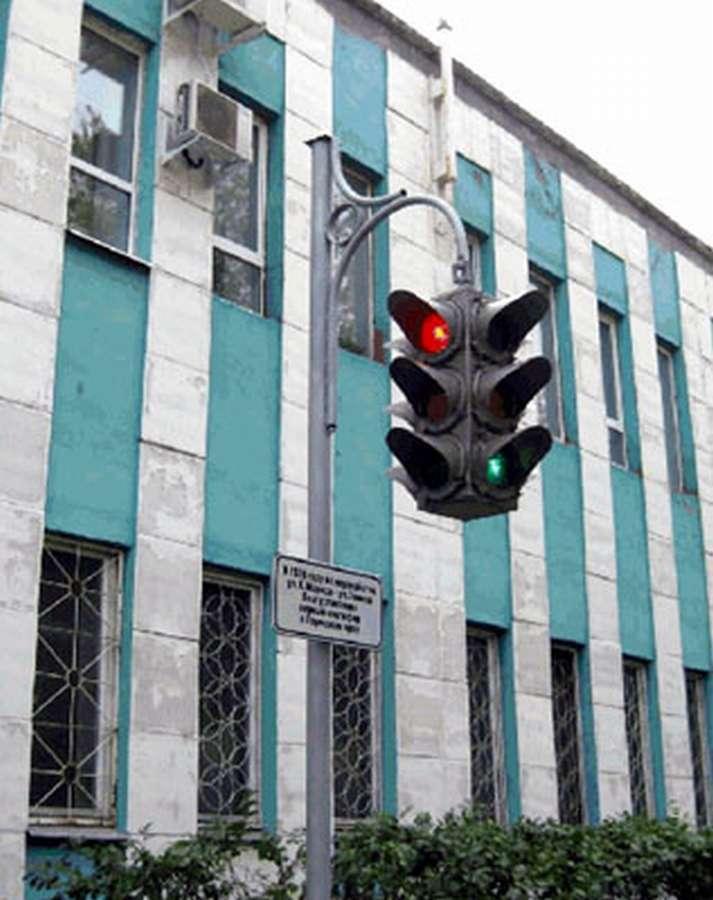 Перми появился памятник светофору. - фото 1