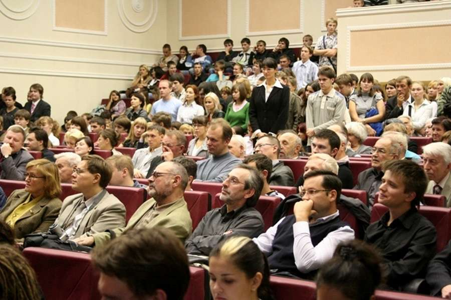 Сергей Капица рассказал пермским политехникам о науке