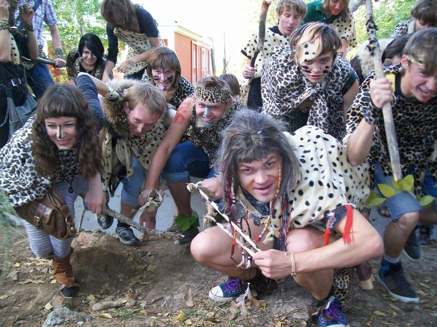 В Перми сегодня охотились на мамонта