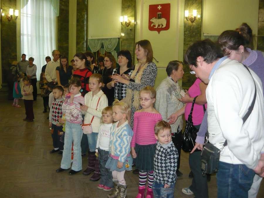 В пермском Центре культуры сегодня впали в детство