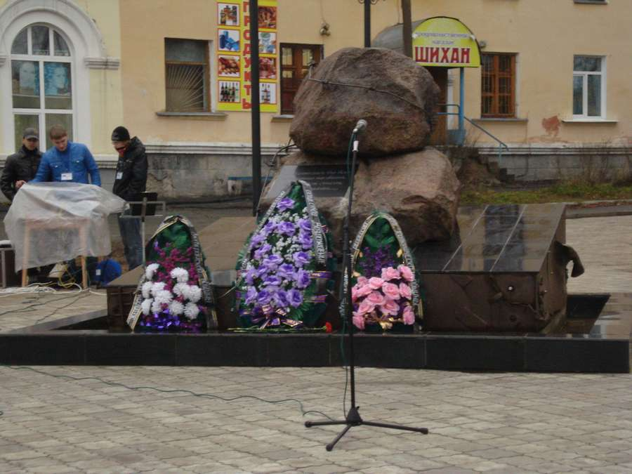 В Соликамске почтили память без вины репрессированных