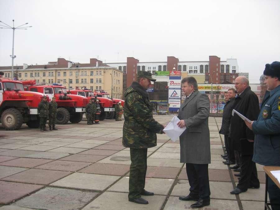 Пермский край обзавелся десятью новыми пожарными автомобилями