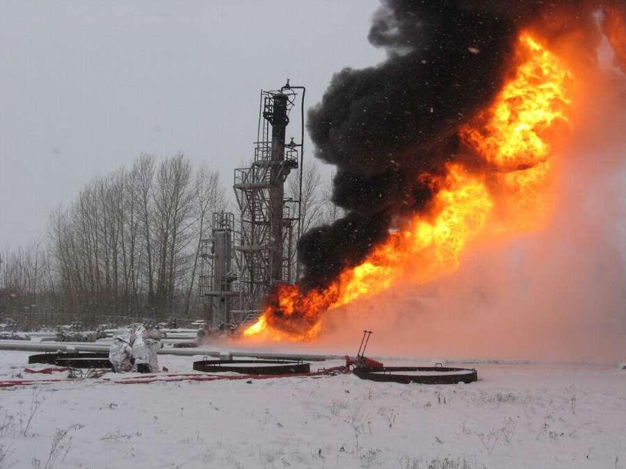 Сегодня пермских пожарных испытали на прочность