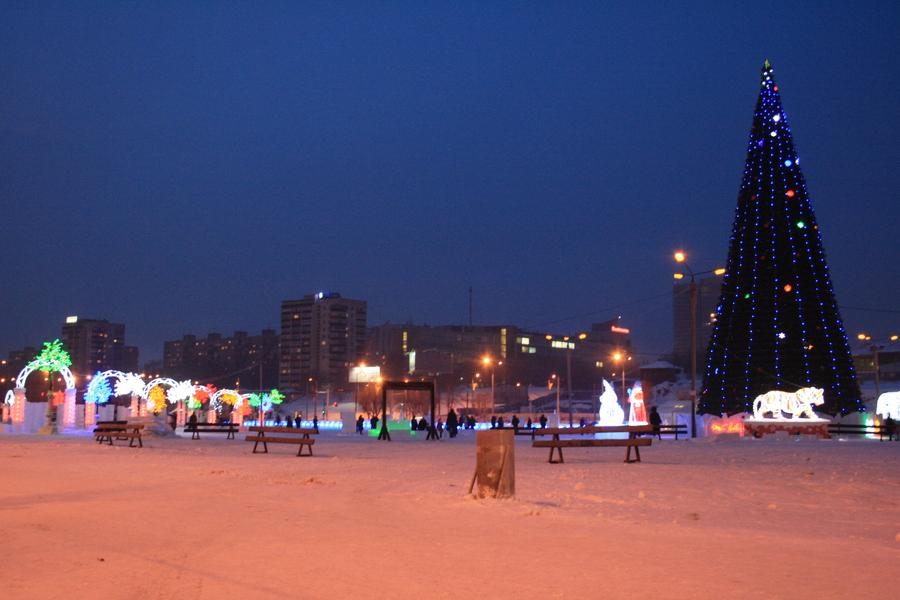В Перми состоялось открытие ледового городка