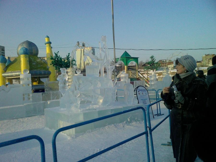 В Перми мастера зимней скульптуры разыграли Кубок России