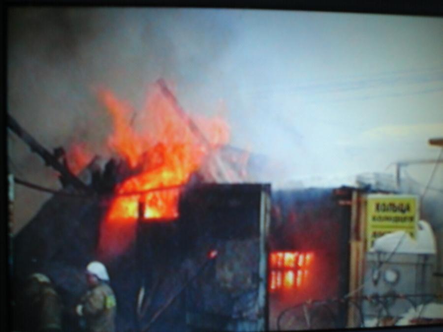 В Перми сегодня случился пожар по рангу № 3