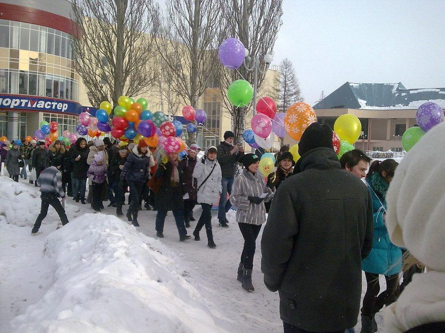 В Перми прошел благотворительный флэш-моб - фото 1