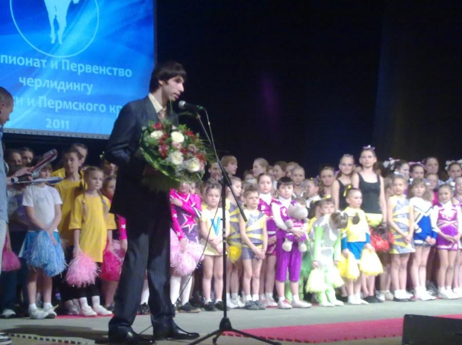 В Перми прошли  краевые и городские соревнования по черлидингу. - фото 1