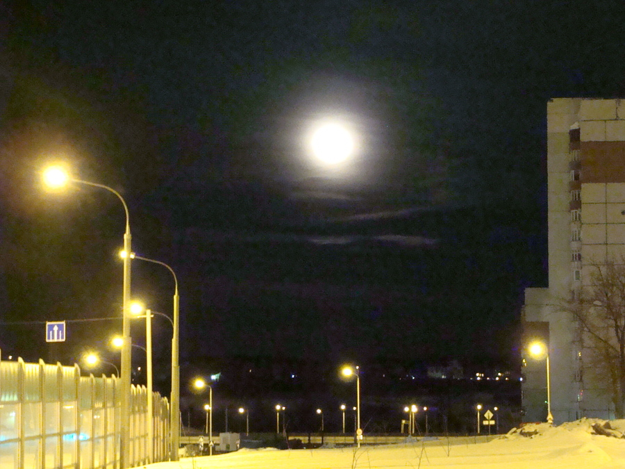 В Пермском крае сегодня можно увидеть самую большую Луну
