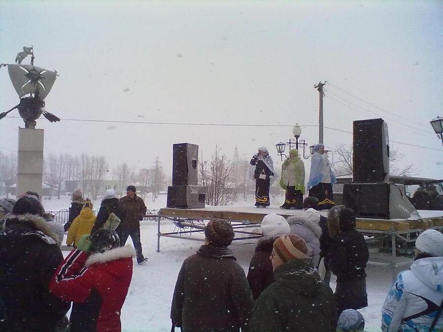 Главная Масленица Пермского края прошла в Кунгуре