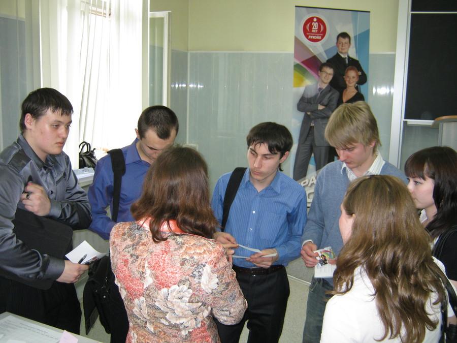 В Пермском политехе студенты взяли старт в Лукойл - фото 4